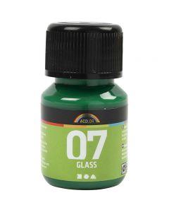 A-Color Glass, brilliant grønn, 30 ml/ 1 fl.