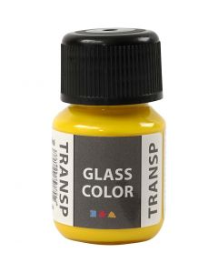 Glass Color Transparent, sitron gul, 30 ml/ 1 fl.