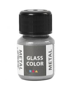 Glass Color Metal, sølv, 30 ml/ 1 fl.