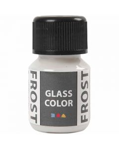 Glass Color Frost, hvit, 30 ml/ 1 fl.