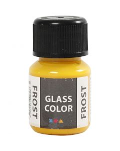 Glass Color Frost, gul, 30 ml/ 1 fl.