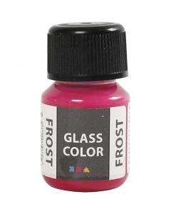 Glass Color Frost, rød, 30 ml/ 1 fl.