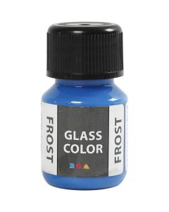 Glass Color Frost, blå, 30 ml/ 1 fl.