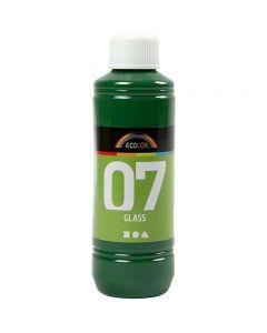 A-Color Glass, brilliant grønn, 250 ml/ 1 fl.