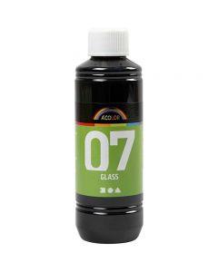 A-Color Glass, svart, 250 ml/ 1 fl.