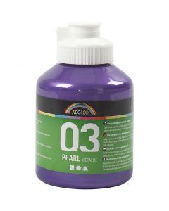 A-Color akrylmaling, metallisk, violet, 500 ml/ 1 fl.
