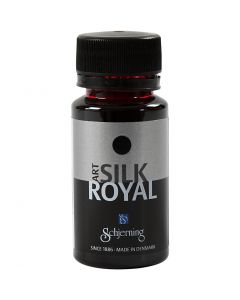 Silkemaling, Royal, rød, 50 ml/ 1 fl.