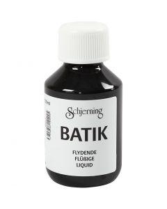 Batikkfarge, svart, 100 ml/ 1 fl.