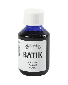 Batikkfarge, brilliant blå, 100 ml/ 1 fl.