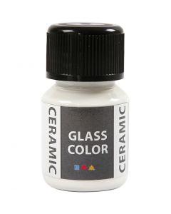 Glass Ceramic, hvit, 35 ml/ 1 fl.