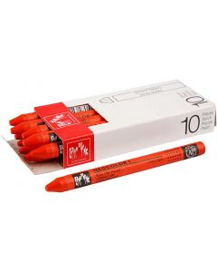 Neocolor I, L: 10 cm, tykkelse 8 mm, vermilion (060), 10 stk./ 1 pk.