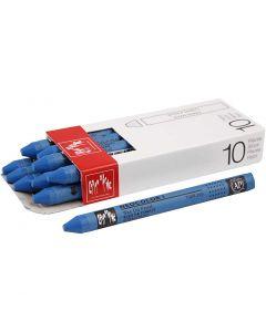 Neocolor I, L: 10 cm, tykkelse 8 mm, cobalt blue (160), 10 stk./ 1 pk.