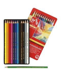 Supracolor II, L: 17 cm, ass. farger, 12 stk./ 1 pk.