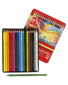 Supracolor II, L: 17 cm, ass. farger, 18 stk./ 1 pk.