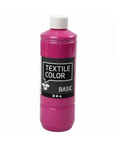 Textil Color, pink, 500 ml/ 1 fl.