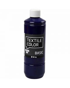 Textil Color, brilliant blå, 500 ml/ 1 fl.