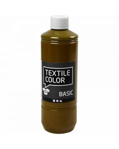 Textil Color, olivenbrun, 500 ml/ 1 fl.