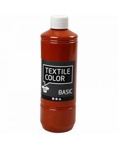 Textil Color, tegl, 500 ml/ 1 fl.