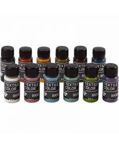 Textil Color, ass. farger, 12x50 ml/ 1 pk.