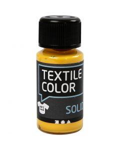 Textil Solid, dekkende, gul, 50 ml/ 1 fl.