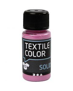 Textil Solid, dekkende, pink, 50 ml/ 1 fl.