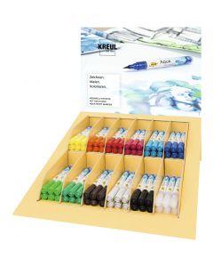 SOLO GOYA Aqua Paint Marker , ass. farger, 12x6 stk./ 1 pk.