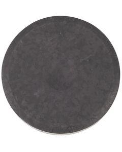 Vannfarge, H: 16 mm, dia. 44 mm, svart, 6 stk./ 1 pk.