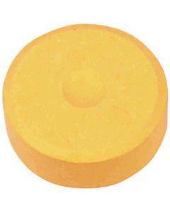 Vannfarge, H: 16 mm, dia. 44 mm, lys orange, 6 stk./ 1 pk.