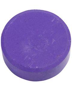Vannfarge, H: 16 mm, dia. 44 mm, lilla, 6 stk./ 1 pk.