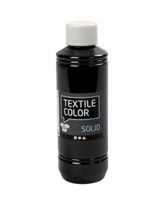 Textil Solid, dekkende, svart, 250 ml/ 1 fl.