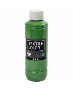 Textil Solid, dekkende, brilliant grønn, 250 ml/ 1 fl.