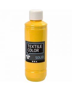 Textil Solid, dekkende, gul, 250 ml/ 1 fl.