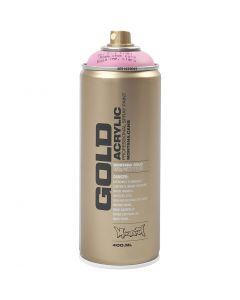 Spraymaling, lys pink, 400 ml/ 1 boks