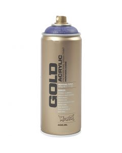 Spraymaling, lilla, 400 ml/ 1 boks