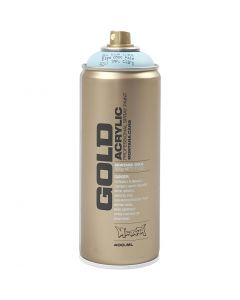 Spraymaling, lys blå, 400 ml/ 1 boks