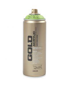 Spraymaling, lys grønn, 400 ml/ 1 boks