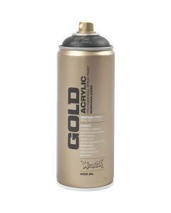 Spraymaling, svart, 400 ml/ 1 boks