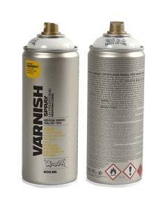 Spraylakk, halvblank, 400 ml/ 1 boks