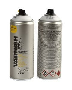 Spraylakk, matt, 400 ml/ 1 boks