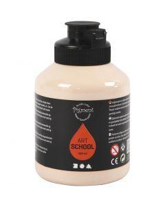 Pigment Art School, dekkende, lys pulver, 500 ml/ 1 fl.