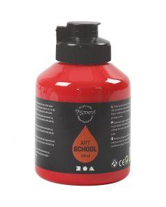 Pigment Art School, transparent, cadmium rød, 500 ml/ 1 fl.