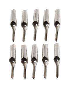 Linoleumskniv, v-form, 10 stk./ 1 pk.