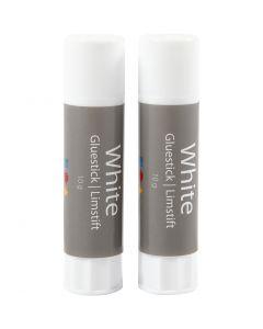 White limstift, rund, 2 stk./ 1 pk.