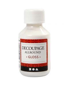 Decoupagelakk, blank, 100 ml/ 1 fl.