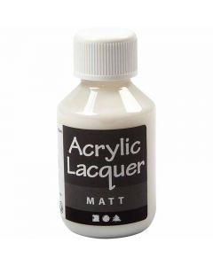 Akryllakk, matt, 100 ml/ 1 fl.