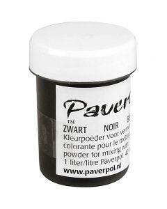 Paver Color, svart, 40 ml/ 1 boks