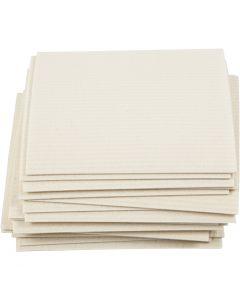 Oppvask klut, str. 17x19,5 cm, råhvit, 20 stk./ 1 pk.