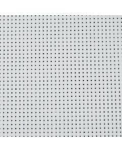 Aidastoff, B: 150 cm, 43 ruter pr. 10 cm  , hvit, 3 m/ 1 stk.