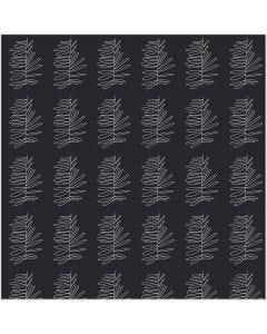 Stoff, B: 145 cm, 140 g, mørk grå, 1 m