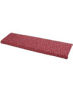 Stoff, B: 145 cm, 140 g, rød, 10 m/ 1 rl.